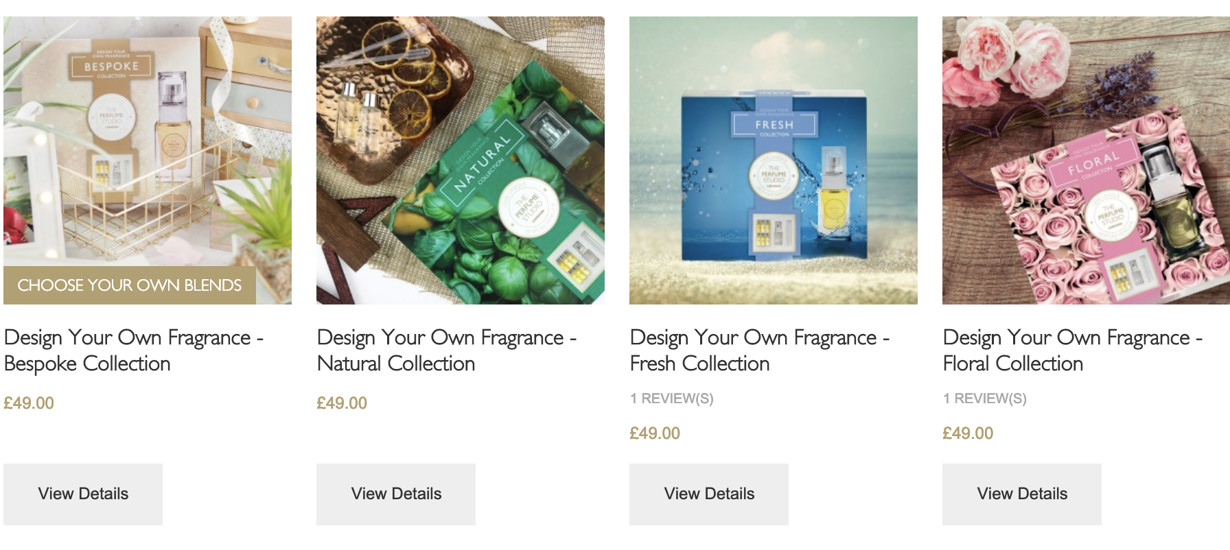 Fragrance Design Gift Sets