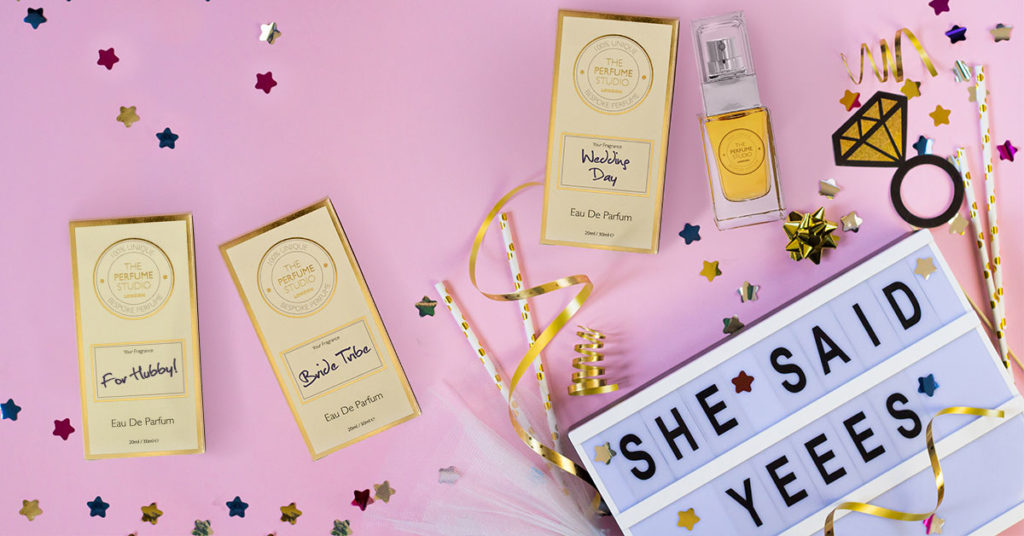 Hen Party Fragrance Design, For hubby, For the Bride, for the Bride Tribe.
